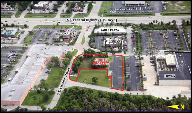 1.05 Acres in Stuart sells for $212K