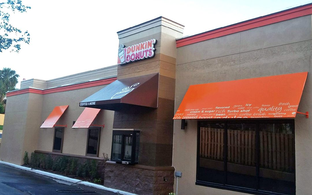 Brand New Dunkin' Donuts Sold
