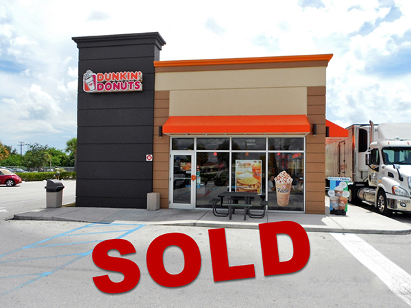 Dunkin' Donuts SOLD for $1.7M