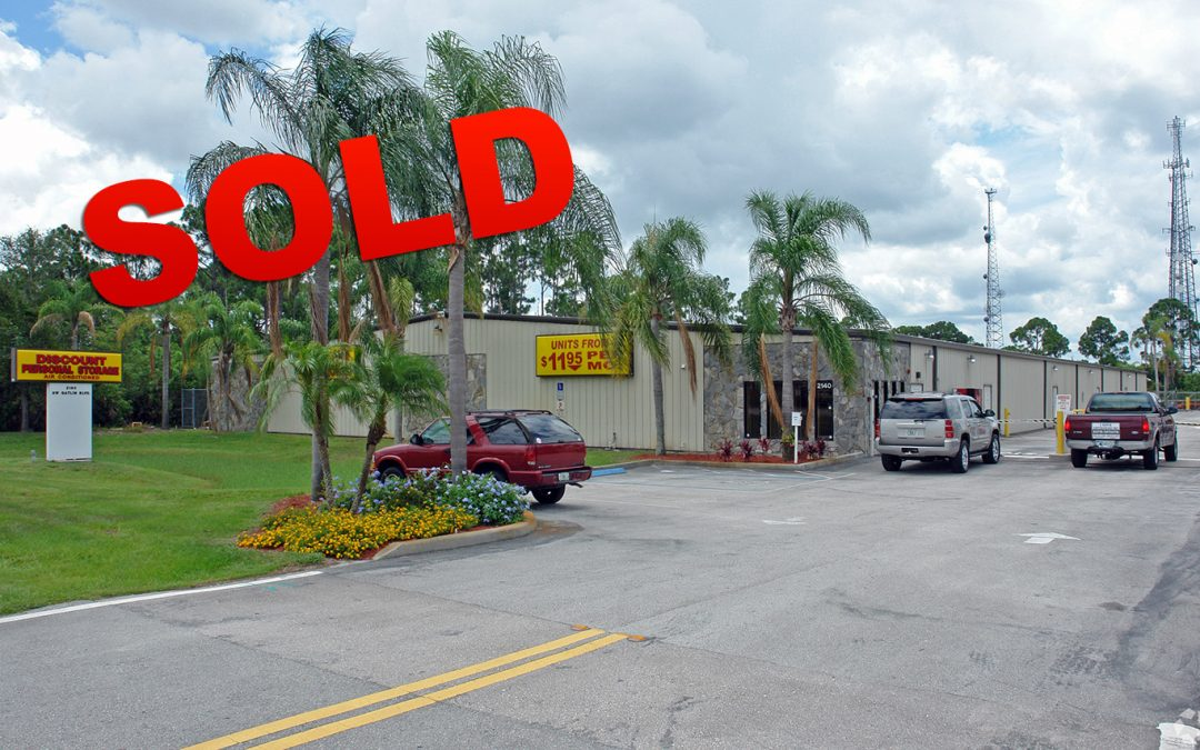 Storage Facility on Gatlin SOLD!