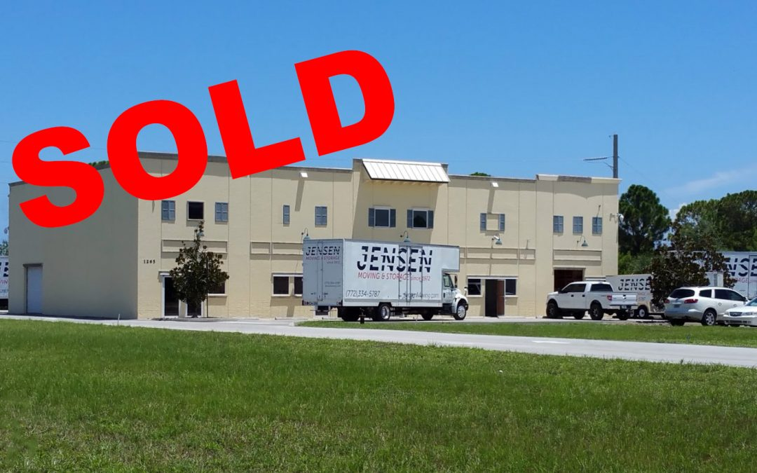 Avonlea Warehouse in Jensen Beach SOLD!