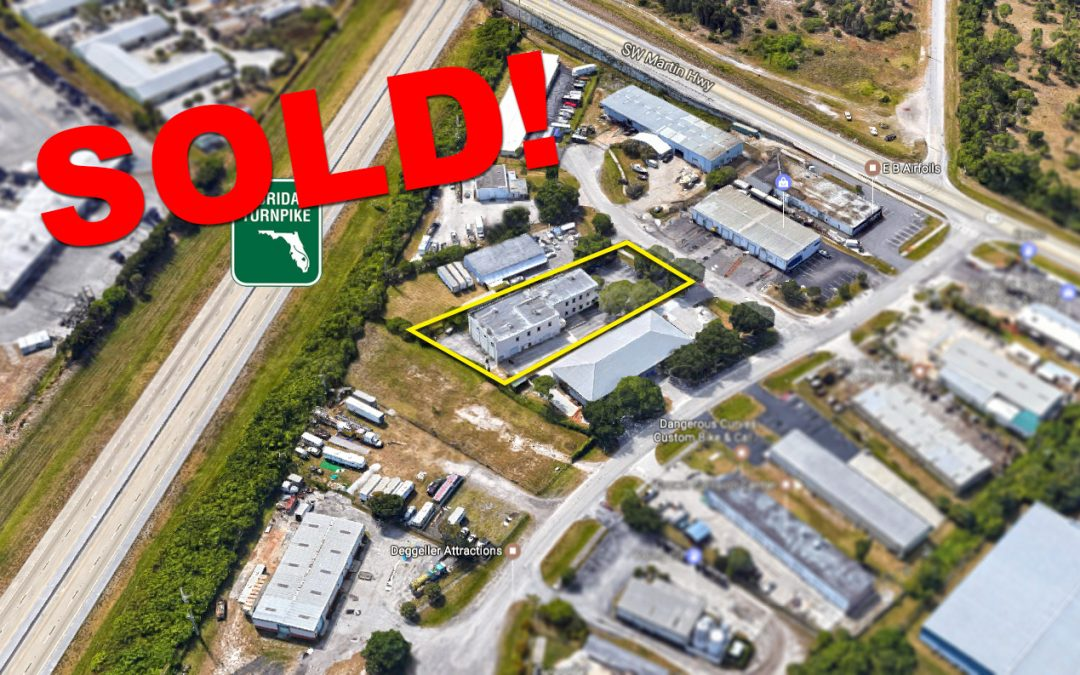 Industrial Property in Palm City SOLD!