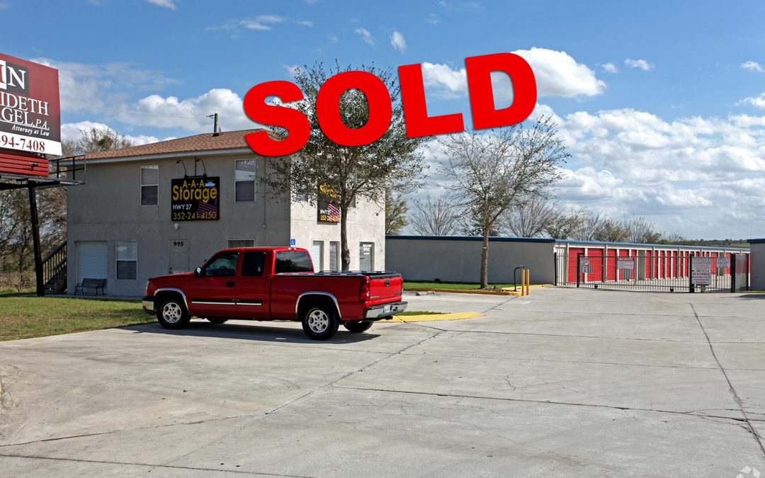 Self Storage Facility SOLD $6.9M