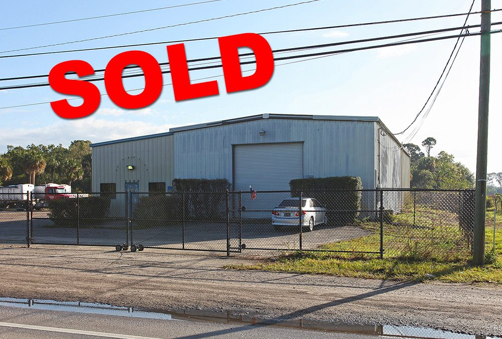 Industrial Warehouse in Fort Pierce SOLD!