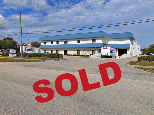 Shur-Co Warehouse in Stuart SOLD!