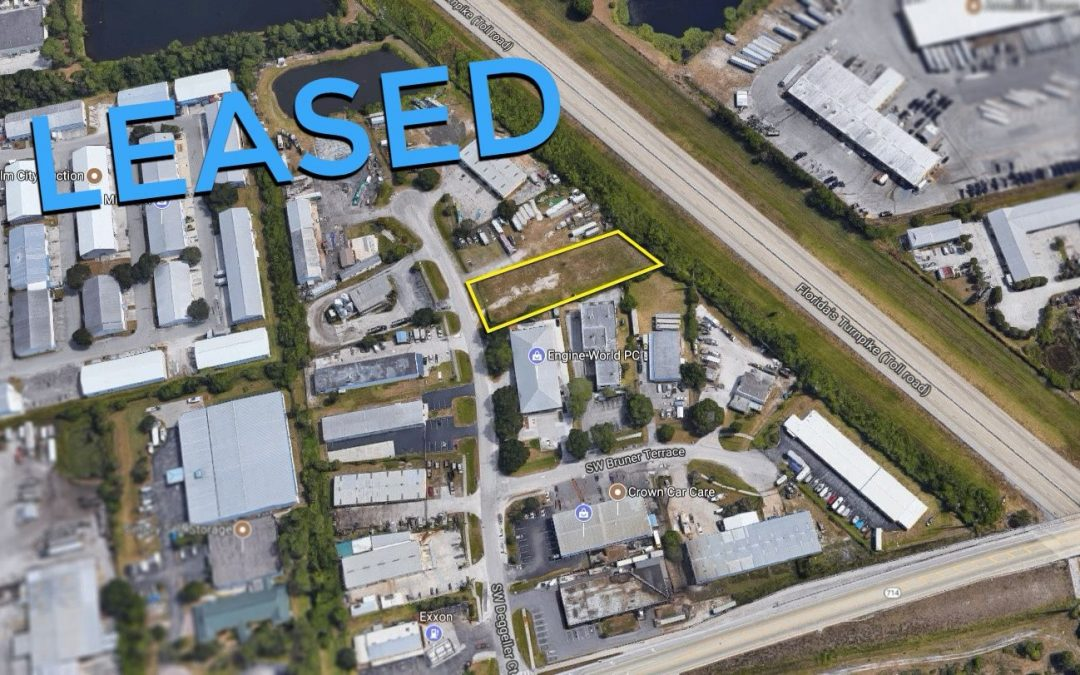 .71 AC Land in Palm City LEASED