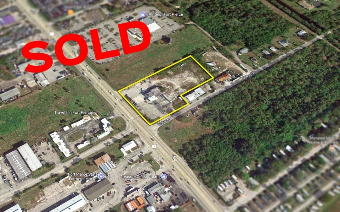 Retail Site in Fort Pierce SOLD