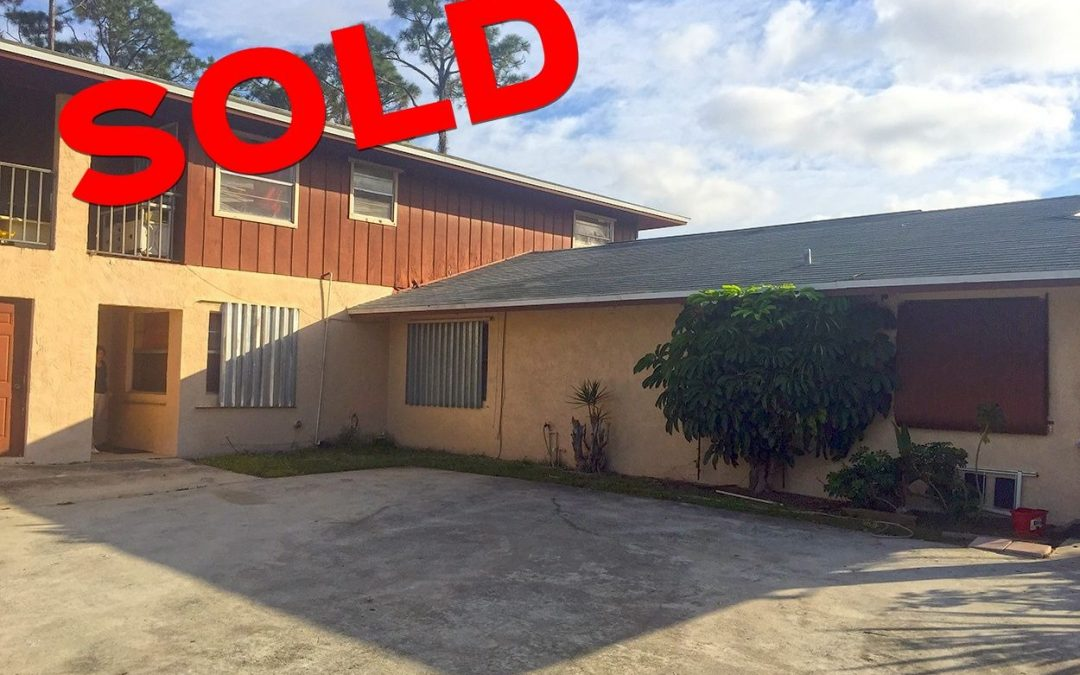 Triplex Property in Jupiter SOLD