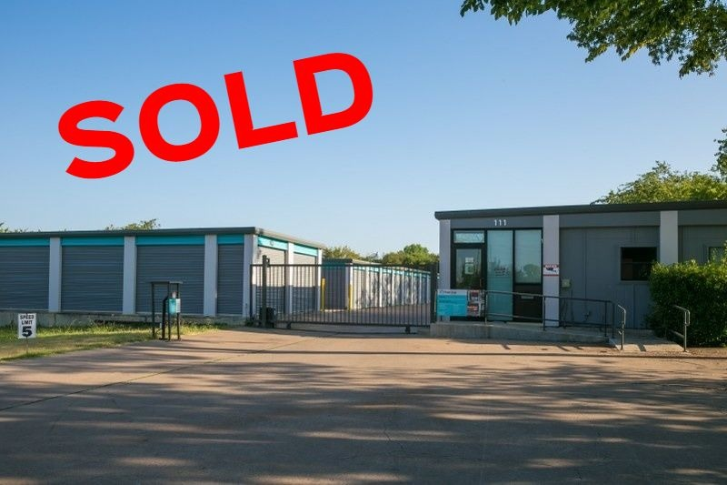 Self Storage in Texas SOLD