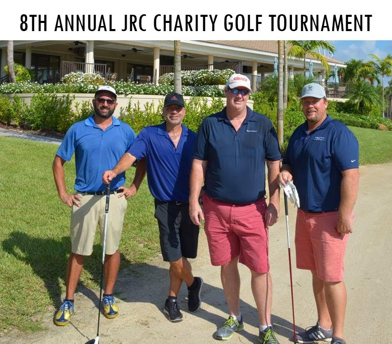 Representing at the 8th Annual JRC Golf Tournament
