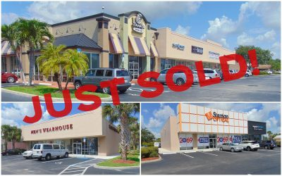 Jensen Beach Plaza Sells for $9.8M
