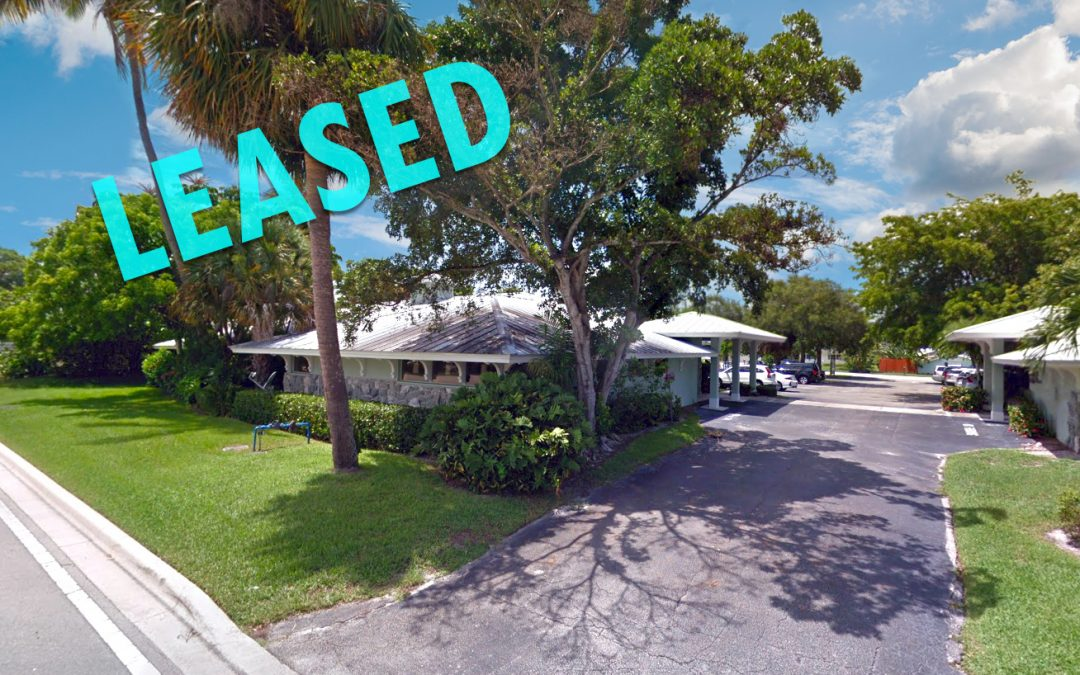 Medical Office in Stuart gets LEASED