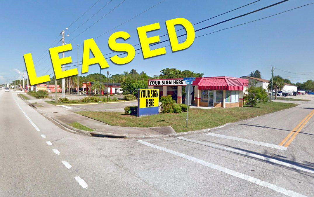 Just Leased: Auto Service Station in W Melbourne FL