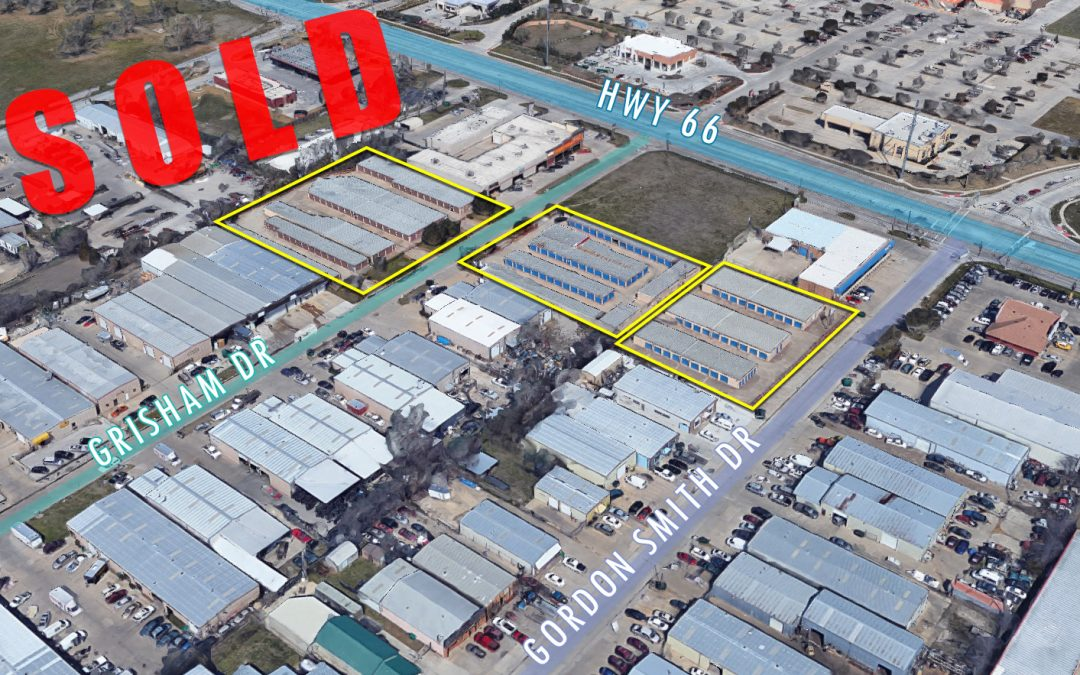 SOLD: Self Storage in Rowlett, TX