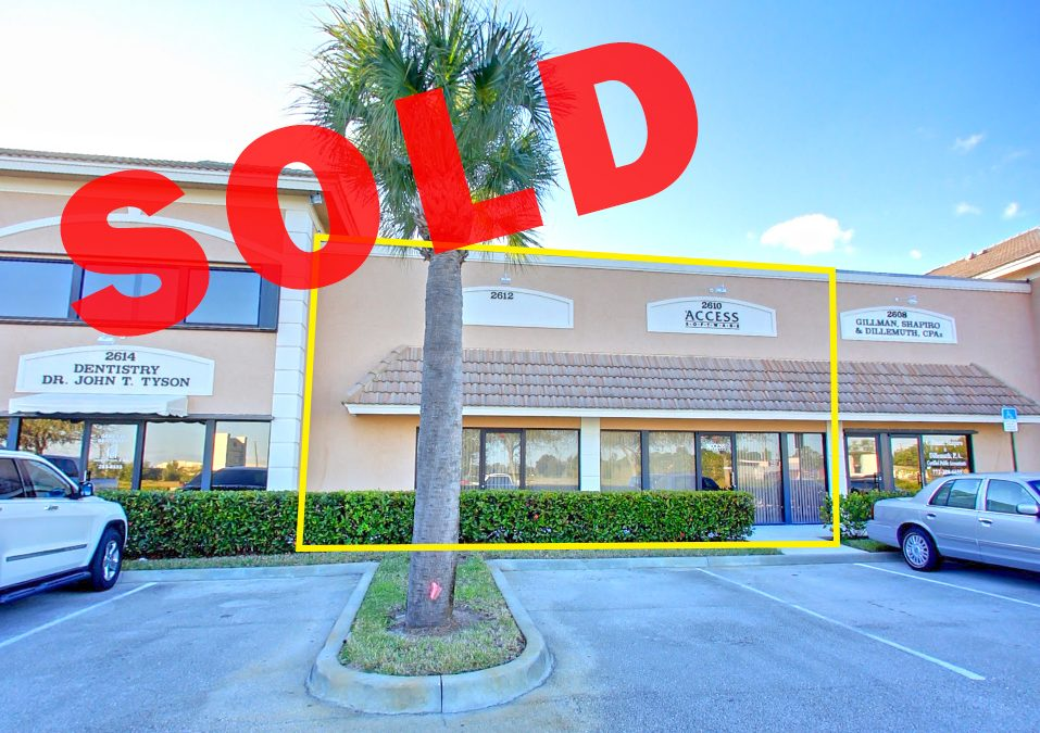 Office Condo in Stuart SOLD