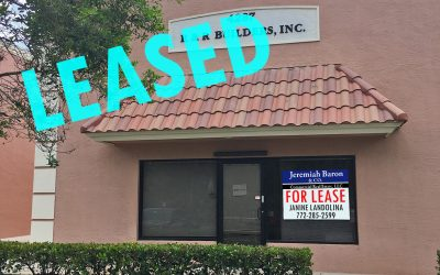 Flex/Warehouse Condo gets LEASED