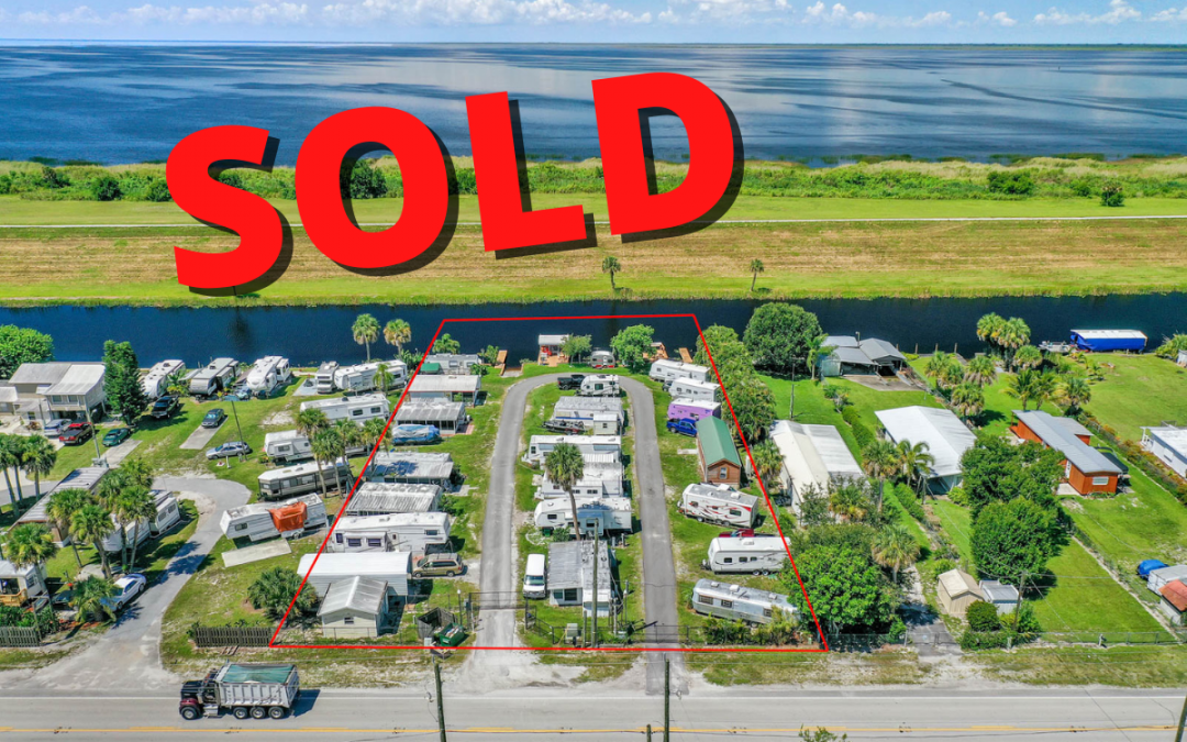 RV Park in Okeechobee sells for $385,000