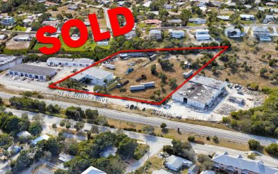 Warehouse & Land in Jensen Beach SOLD for $1.5M