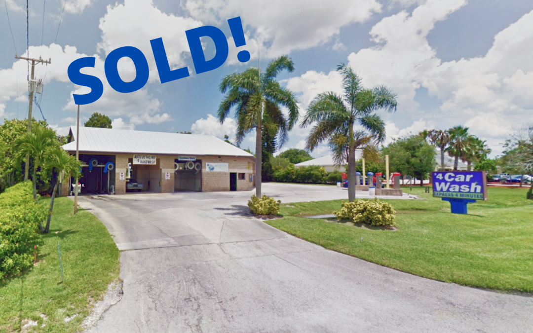 Sebastian Car Wash just sold for $2.3M