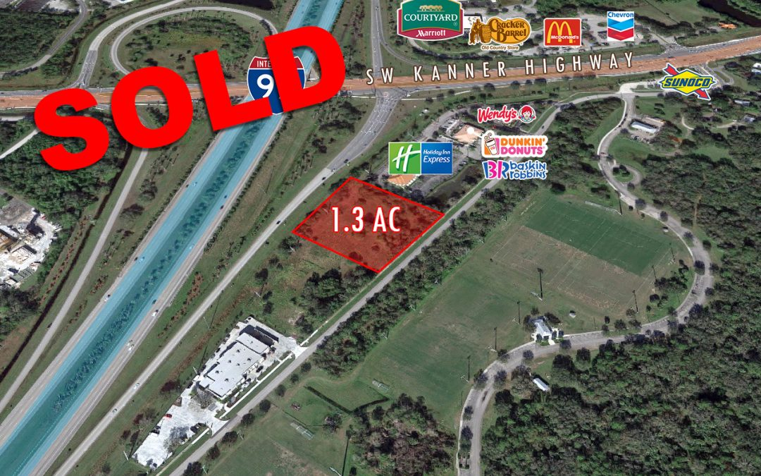 1.3 AC Land in Stuart SOLD!
