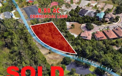 0.80 AC Commercial Land Sold