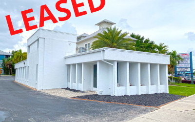 Free Standing Professional Office Leased